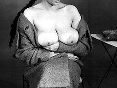 Vintage big retro boobies