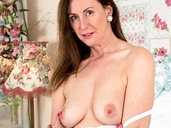 Here we have Lara who has enjoyed having sexy fun in sheer real nylons ever since she was a...