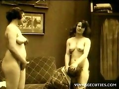 Upskirt lesbian panty tease