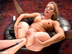 Amy Brooke takes her amazing anal skills to the next level in this hot update with Audrey...