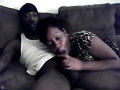 Ebony Couple Amateur Sextape