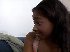 Young ebony