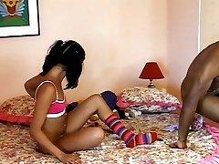 Young Latina needs a strong black dick