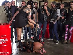 Melody Petite is a perky slut in a box - Part 1Mistress Minerva has a present for Steve! Its...