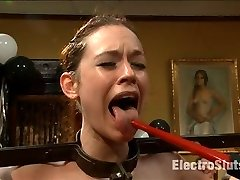 Its Justine Jolis party, and if the birthday girl wants to be tied up in electrosex bondage,...