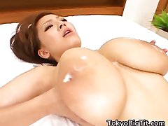 Hitomi fucked with passion