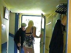 French blonde gangbang hard