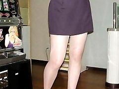 nylon amp pantyhose