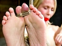 Simone Sonay said she loves to be tied down and rough fucked. She thought that she had already...