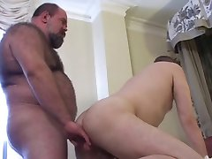 bear and Chubby fuck hot