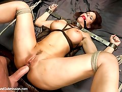 Syren lives as a full time submissive to her husband Mark. Waking him up every morning with a...