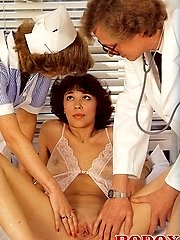 Retro doctor fucks patient