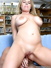Blessed with a beautiful body and zero gag reflex, Daphne Rosen was porn to power chug cock!...
