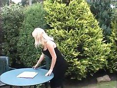 British lesbians get it on in the garden