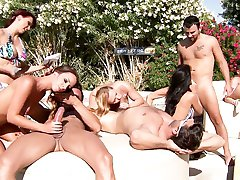 Brazzers LIVE Pool Party - NEXT Show is 04-30-13 4pm EST 1 pm PST