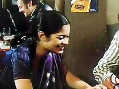 Indian girl in 80s German porn movie