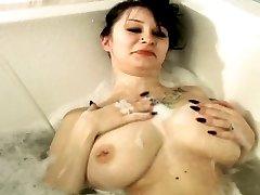 Irresistible Callie stripping at the lake