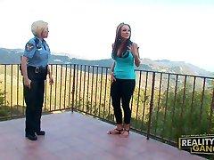 Nikki Sexx Gets Busted by Diamond Foxx