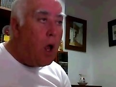Spanish Chubby Grandpa with thick Dick