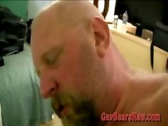 Fat gay bear banging his lover