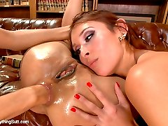 Lyla Storm and Deanna Dare are two naughty girls who get punished with extreme anal sex by...
