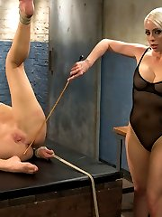 Darling returns for a very intense lesbian BDSM experience with Lorelei Lee including lesbian bondage, fisting and anal fucking!