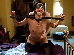 Sexy French girl, Lou Charmelle gets a kinky surprise when she shows up at a clients house as a...