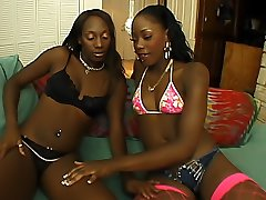 Dykes licking each other039s black clits