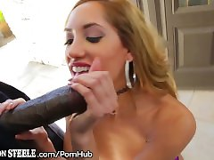 Lexington Steele has Chloe Amour Ride his BBC