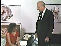 Hard domestic discipline for masturbating wife - hot burning buttocks
