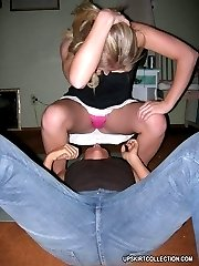 Awesome pics with girls hardly taking off their tight jeans