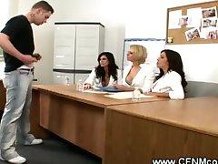 CFNM admission sex board