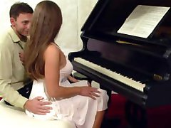 Cathy Heaven Cathy Fucked by the piano teacher