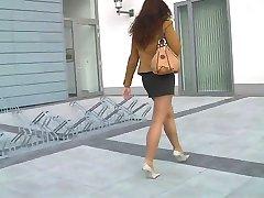 Nylons und High Heels Outdoor - megageile Sau