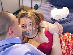 PunishTeens - Naive Teen Gagged & Trained To Be A Slut