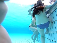 nice teen at pool underwater 2