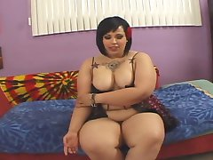 Tubby Lil' Punker Chub Gets Pounded