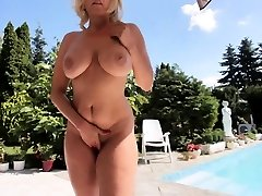 Cute plumper lets boss pound her shaved pussy and tits for a nice bonus