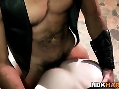 Hot Nessa gets her ass fucked
