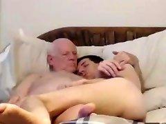 Hardcore slut stuffs tight ass and cunt