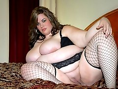 Super large BBW slut gets plowed!