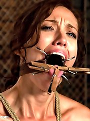 Gorgeous Audrey Rose comes to Sex and Submission to be bound, controlled and dominated by Mark...