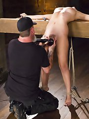 Roxanne is tied up in some of the most extreme positions that pushes her body to its breaking...
