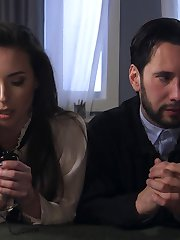 When a hardened criminal, Tommy Pistol, is paroled into a private halfway house run by Mormon Casey Calvert, Casey becomes obsessed with saving Tommy. But when Tommy triggers Casey's long repressed sexual yearnings, the odd pair gives in to their passion and have an oral sex romp. After their encounter, Casey's Mormon guilt drives her to thwart her budding romance and betray Tommy to his Parole Officer.  Tommy reacts with the anguish of a felonious jilted lover: he ties her up and punishes her. Then he fucks her in the ass. A couple of times.Casey hates herself for loving it. Tommy absolves Casey by holding her head in the toilet bowl as he fucks her ass, absolving her of all her guilt with her own Anal Baptism.