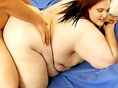 Huge and naughty chick Demissis enjoys a rock hard meat stick pierced deep in her fleshy slit