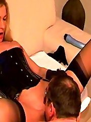 Mistress Mia Anderson and her servant