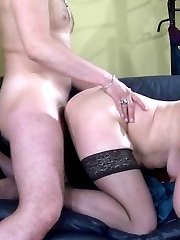 Mature maid finds pleasure from her chubby body in hardcore fuck with a guy