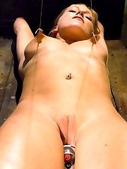 Dia Zerva suffers through trampling, orgasm denial, tight rope, the cattle prod, nipple torture,...