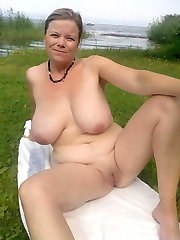 mature women stripped naked in public
