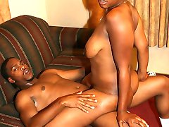 Hot ebony Keisha strips down and gets on the floor to show off her hot black ass